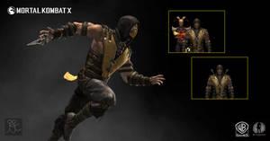 Mortal Kombat X - Scorpion Costume A by Sticklove
