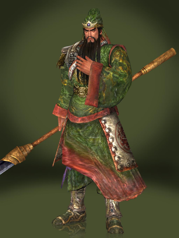 Guan Yu (DW4 DLC) by Sticklove on DeviantArt
