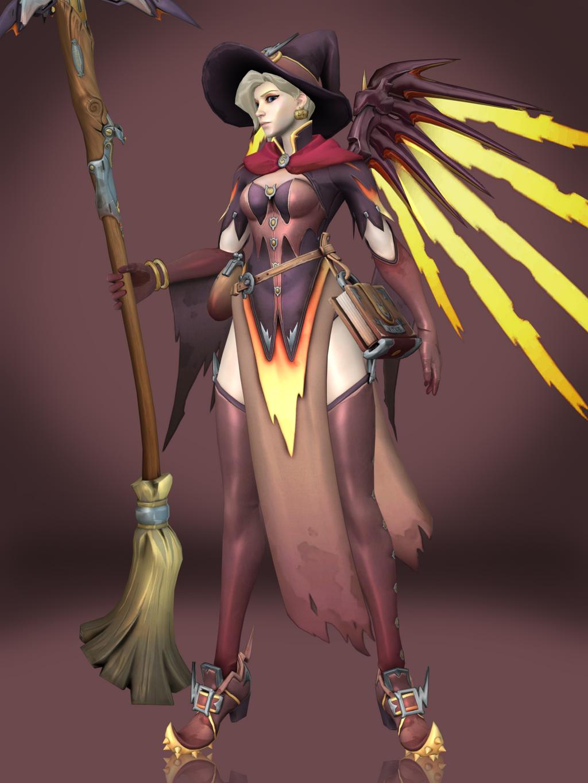 Mercy (Witch) by Sticklove on DeviantArt