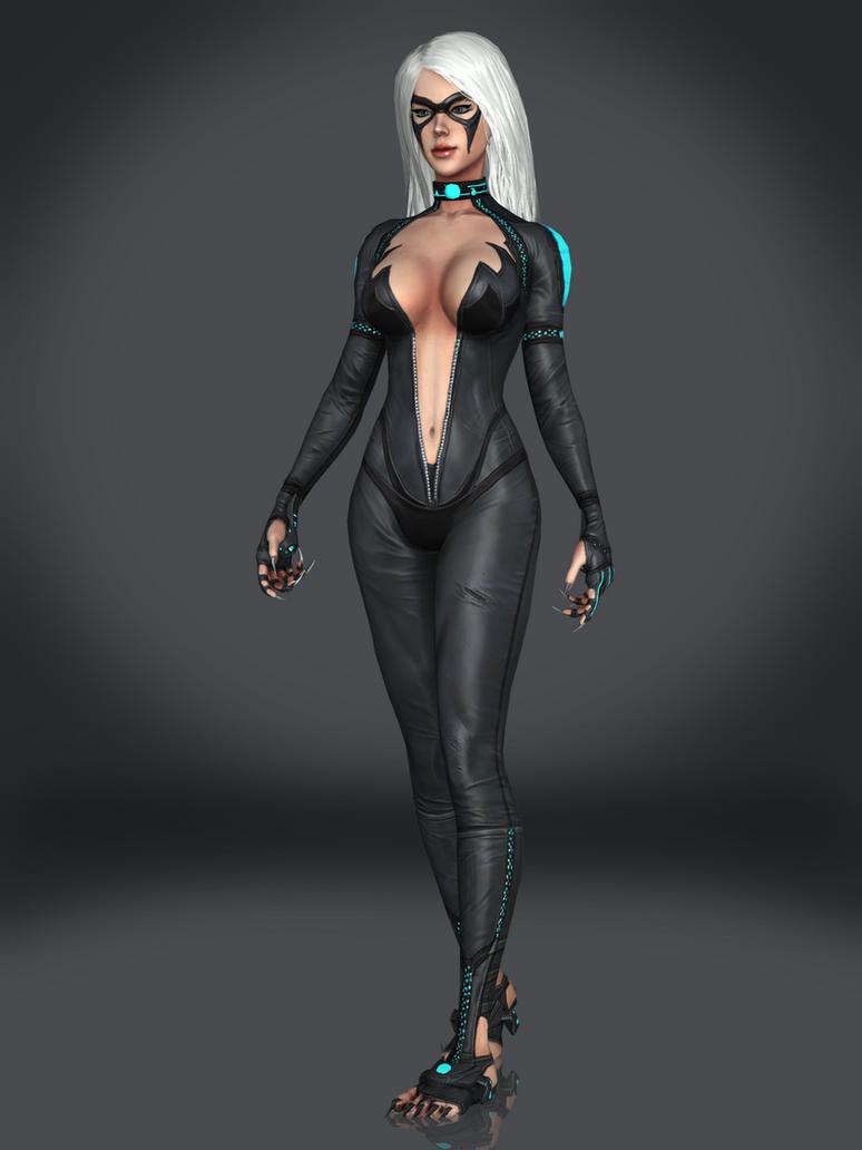 Black Cat By Sticklove