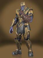 Thanos by Sticklove