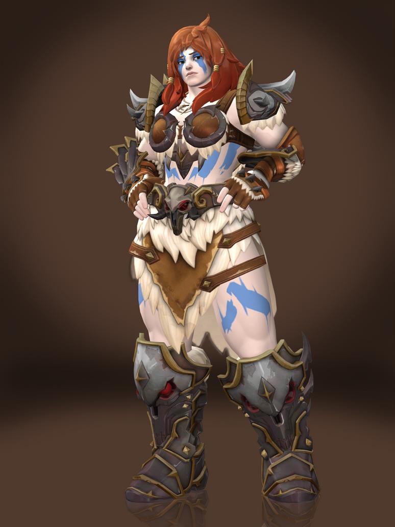 Zarya (Barbarian) by Sticklove