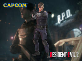 Leon S. Kennedy (Demo) by Sticklove
