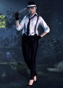 Claire Redfield (Noir) by Sticklove