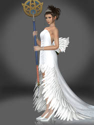 Yuna (Wedding Gown) by Sticklove