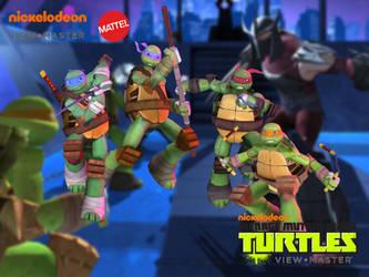 Ninja Turtles by Sticklove