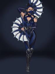 Kitana (Edenian Blue) by Sticklove