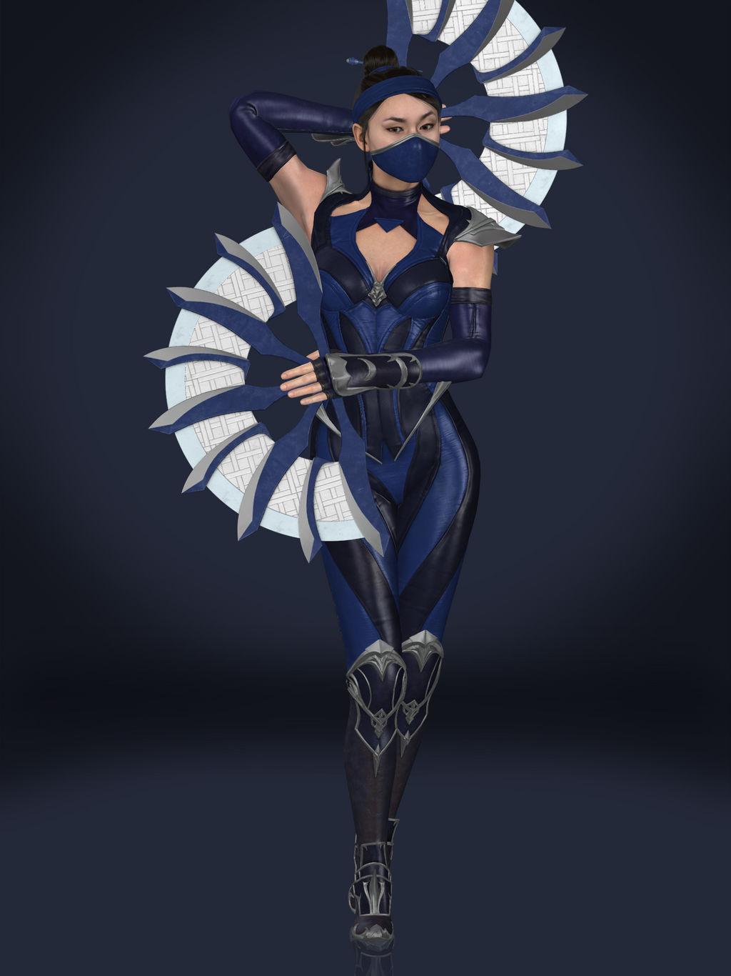 Kitana (Edenian Blue)