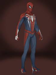 Spider-Man (Advanced Suit) by Sticklove
