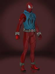 Spider-Man (Scarlet Spider) by Sticklove