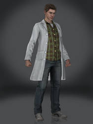 Peter Parker (Lab Coat) by Sticklove