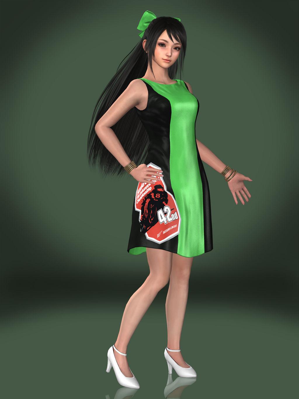 Guan Yinping (Race Queen)