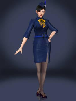 Zhenji (Flight Attendant)