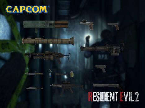Leon's Weapons