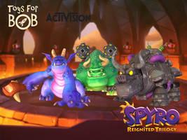 Spyro 2 Bosses