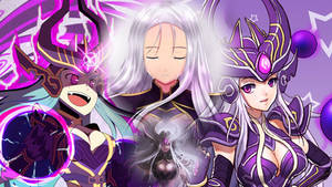 Syndra League of Legends Wallpaper by Vichoac