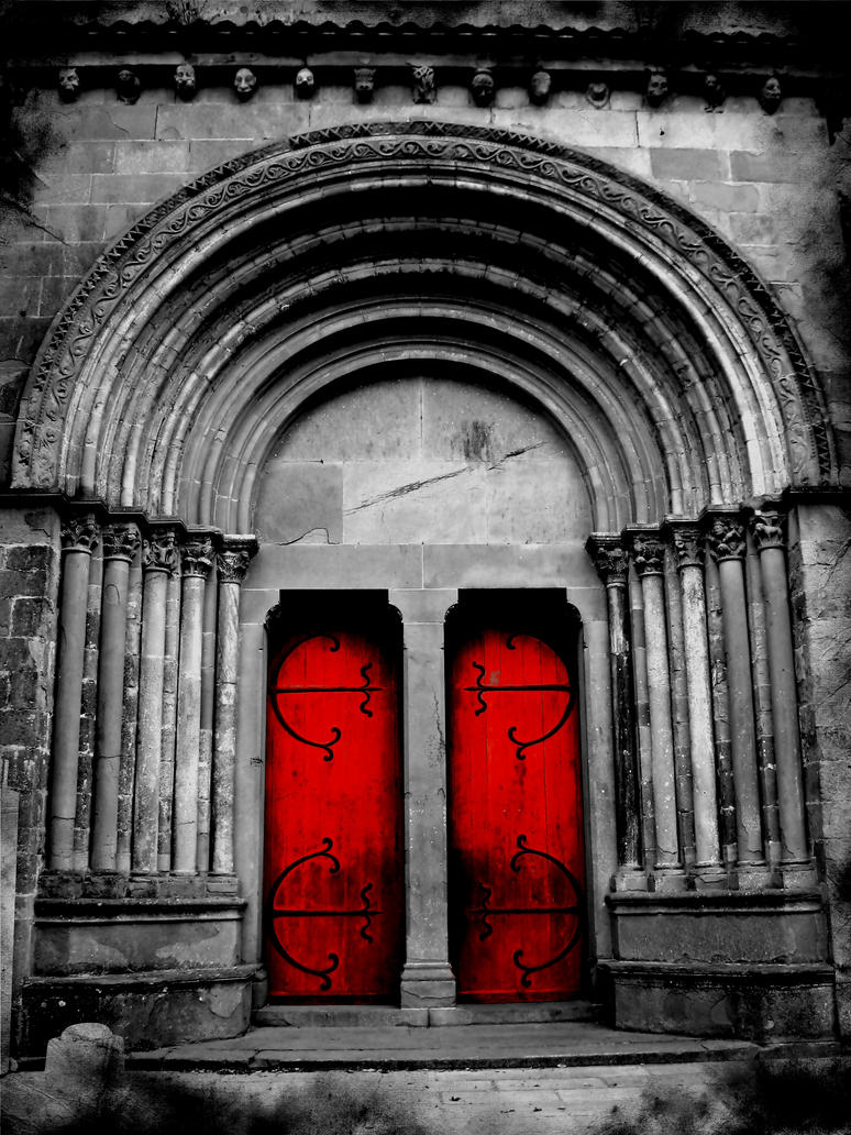 Red Doors to Hell by PhotoRoacH ... & Red Doors to Hell by PhotoRoacH on DeviantArt