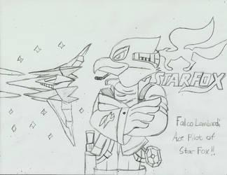 The Ace Pilot Falco Lombardi by PhantomMasterRamos89