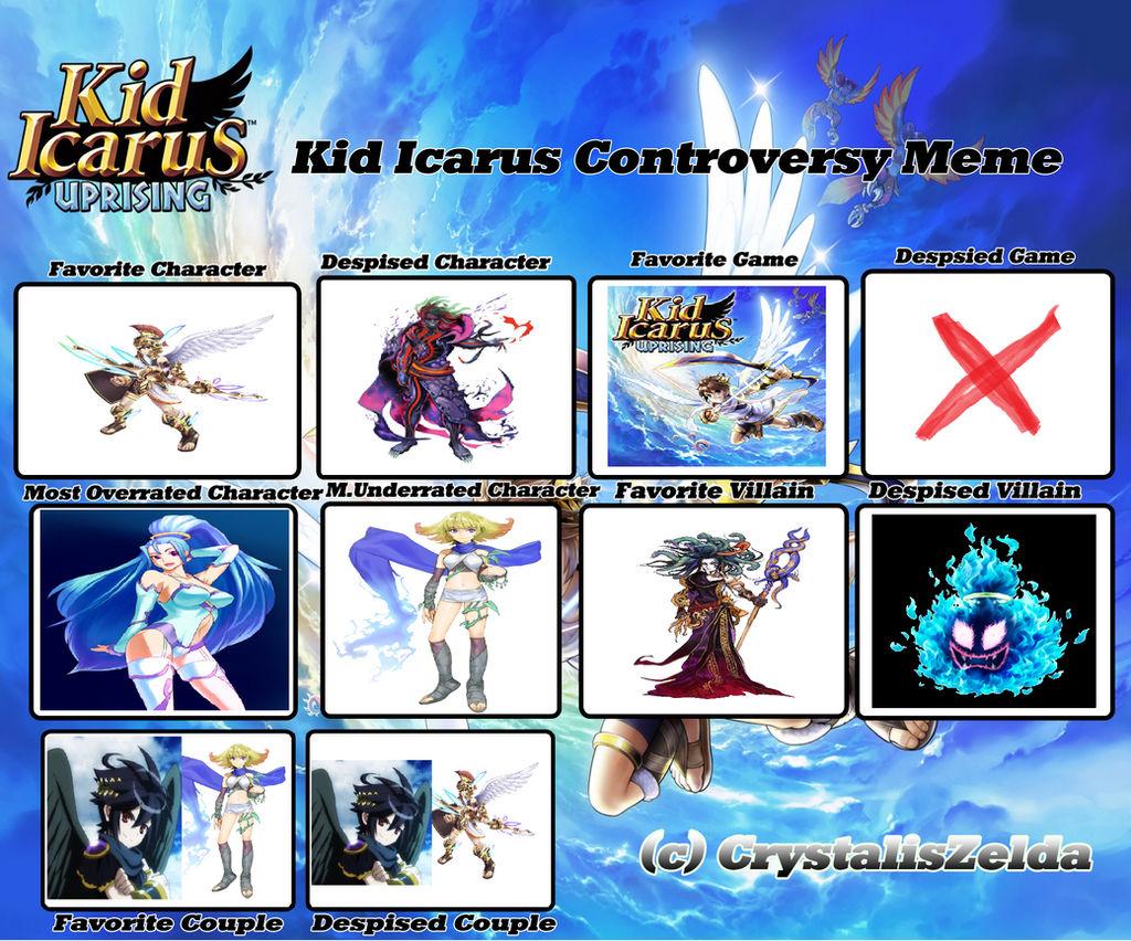 Kid Icarus Controversy Meme by PhantomMasterRamos89
