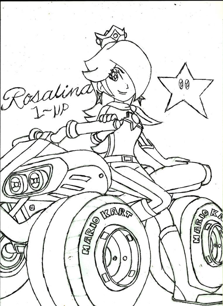 Rosalina Mario Kart 8 by PhantomMasterRamos89 on DeviantArt