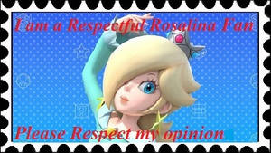 Respectful Rosalina Fan Stamp