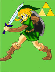 A Link to the Past Young Link by PhantomMasterRamos89