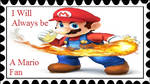 Always a Mario Fan Stamp by PhantomMasterRamos89