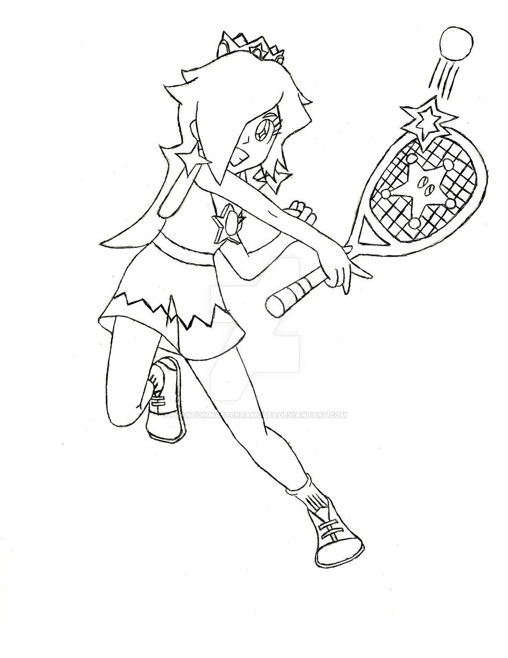 Rosalina Mario Tennis Ultra Smash by PhantomMasterRamos89 ...