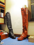 arkham city harley quinn boots