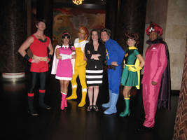 The Awesomes Assemble by hollymessinger