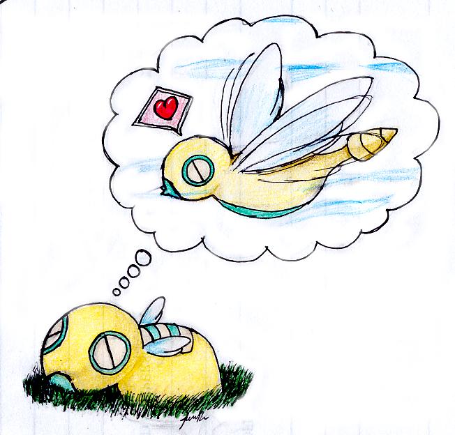 Daydreaming the Day Away by KyuuTatsu