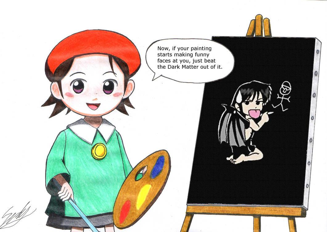 Adeleine draws Akosmia