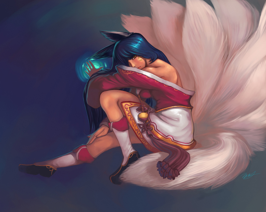 ahri by net2k