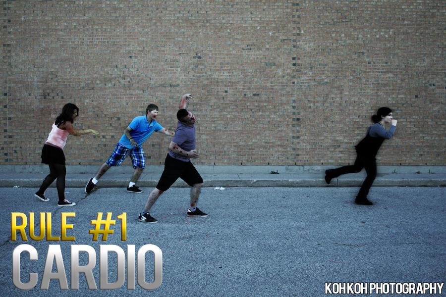 Zombieland Rule 1 Cardio By Kelvin Oh89 On Deviantart