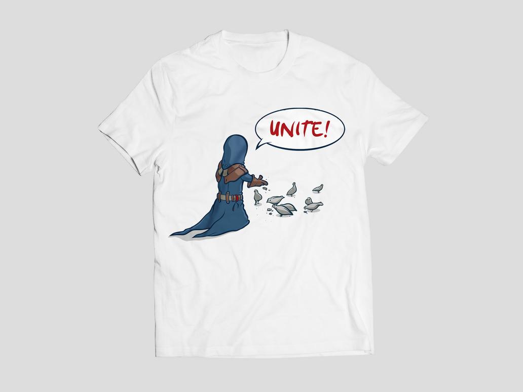 Unite! - T-Shirt by freakyphil1