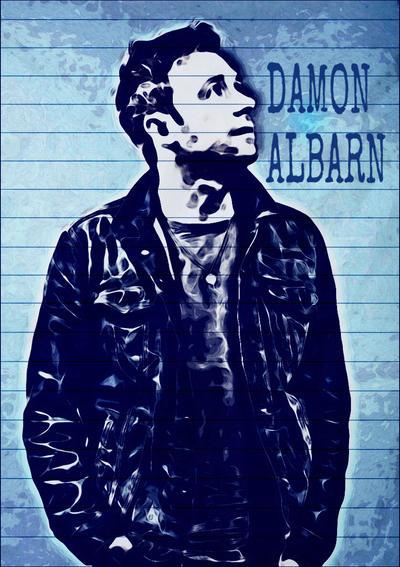 Damon Albarn by SuperTibby123