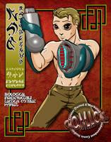 NIK - Character Bio by comicsINC