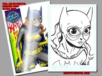 batgirl card by comicsINC
