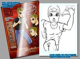 stylez card by comicsINC