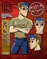TORAN - Character Bio by comicsINC