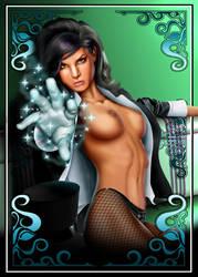 Zatanna you're under my spell by comicsINC