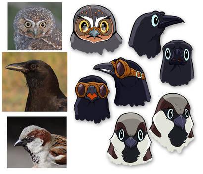 Birds of May - modelsheet02