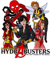 HydrA Busters by comicsINC