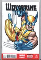 Wolverine sketch art cover by comicsINC