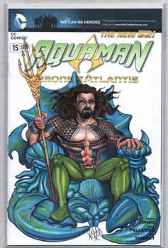 Aquaman Sketch cover