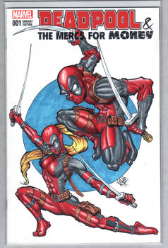 Deadpool sketch Cover