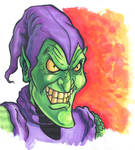 Original Green Goblin drawing