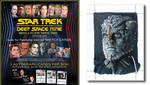Deep Space Nine Heroes and Villians Sketch Card by comicsINC