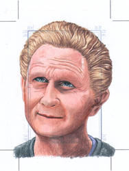 Odo Officially licensed Sketch card