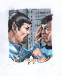 Star Trek Spock Bones Sketchcard